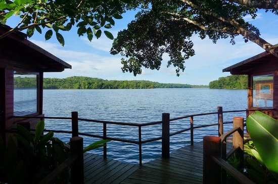 Las Lagunas Boutique Hotel: view of the lagoon from thebungalows