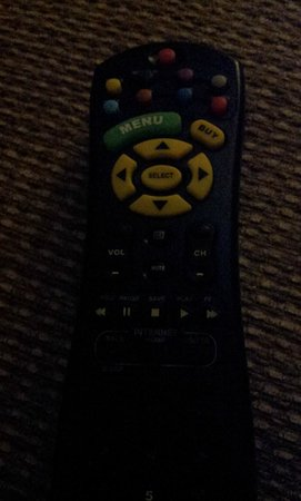 Embassy Suites by Hilton Chicago - Schaumburg/Woodfield: Worst TV Remote