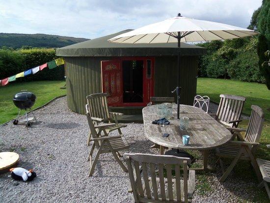 Broughton House: the yurt