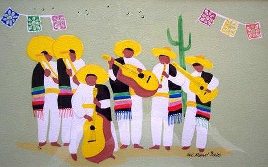 José Manuel Robles, painter - Tlaquepaque - Picture of