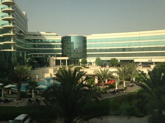 Copthorne Airport Hotel Dubai: View from room