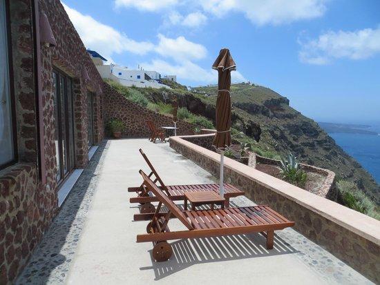Anastasis Apartments: Anastasis Villa private terrace