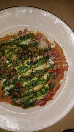 The Cheesecake Factory: Tomato and Basil Pasta