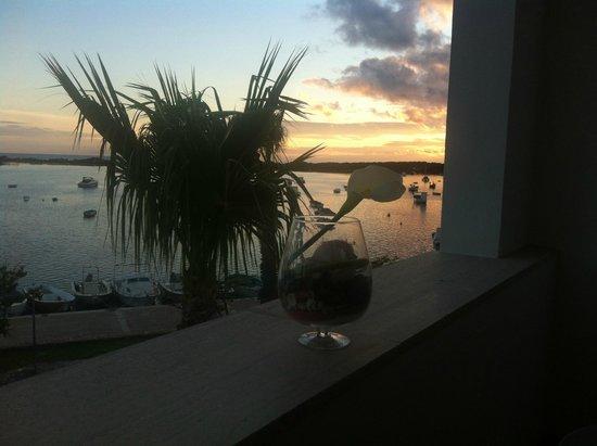 Hotel Il Riccio : Panorama dalla camera vista mare