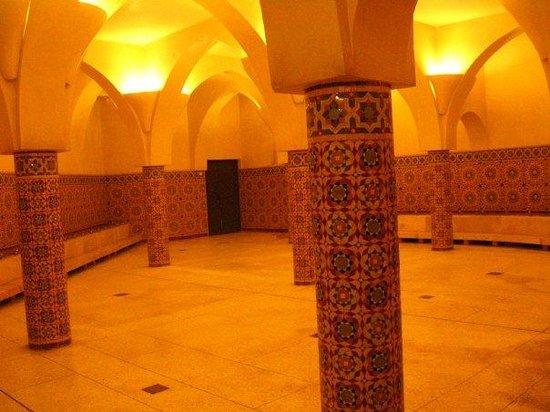 Mezquita de Hassan II: Uno de los hammams