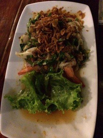 Sabienglae Restaurant: Special salad