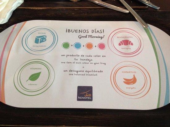Novotel Suites Malaga Centro : Desayuno sano