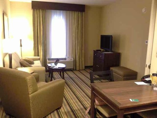 Homewood Suites by Hilton Charlotte Airport: Living room
