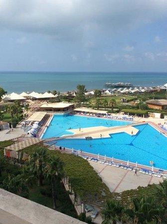 Hotel Riu Kaya Belek: top floor view.