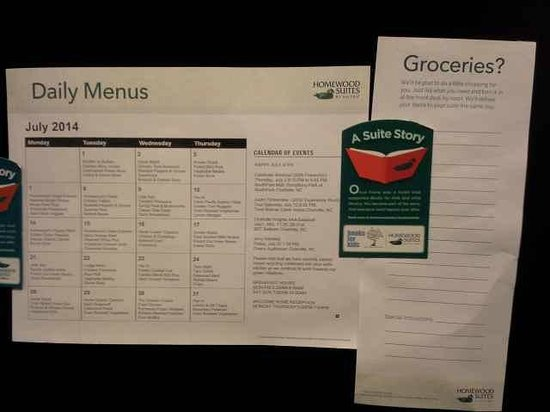 Homewood Suites by Hilton Charlotte Airport : They'll get groceries for you!