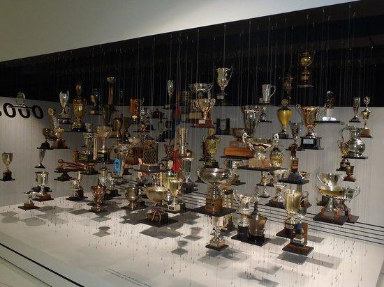 Porsche Museum - Трофеи