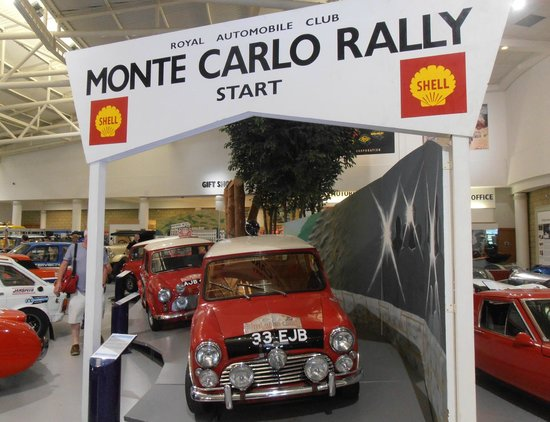 British Motor Museum: Minis at the Monte Carlo Rally