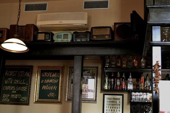 Restaurace Pod Viktorkou : Оформление ресторана
