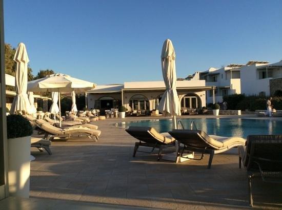 Saint Andrea Seaside Resort: Pool area