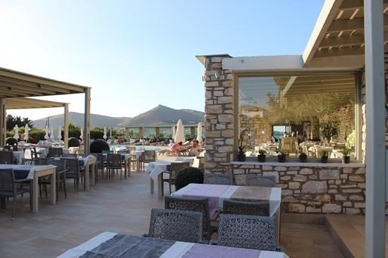 Saint Andrea Seaside Resort: Dining area