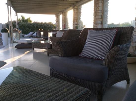 Saint Andrea Seaside Resort : Lounge area