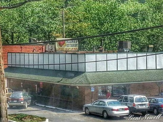 Kline's Restaurant: Taken from the scenic train ride from Cumberland to Frostburg