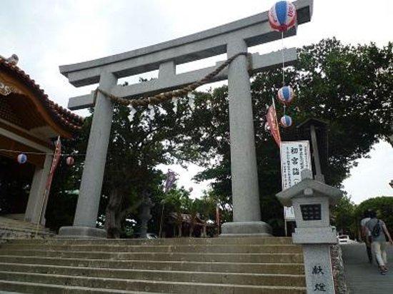 Naminoue-gu Shrine : 鳥居