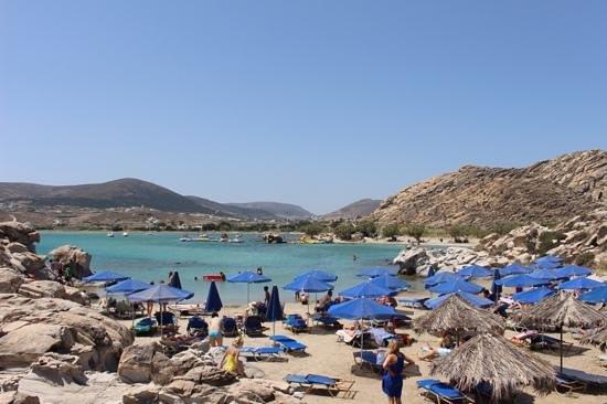 Saint Andrea Seaside Resort : Kolymbithres Beach