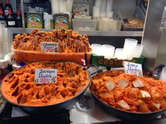 Mercado Central de Atarazanas: Alimentos