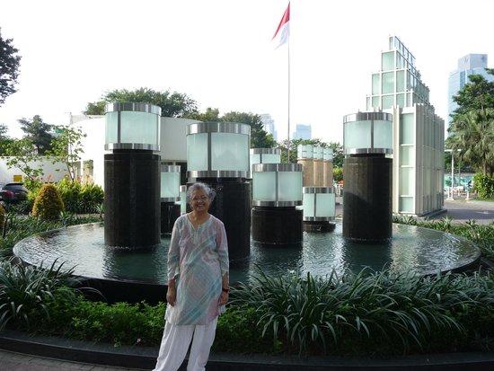 Fraser Residence Sudirman Jakarta: Entry point