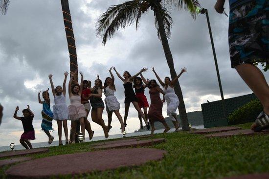 El Cid Castilla Beach Hotel: Jump of joy
