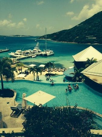 Scrub Island Resort, Spa & Marina, Autograph Collection: view from the top