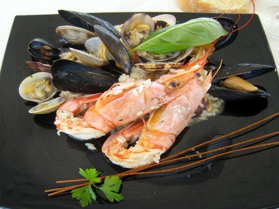 Escargot - Colorful Kitchen: Risotto alla pescatora