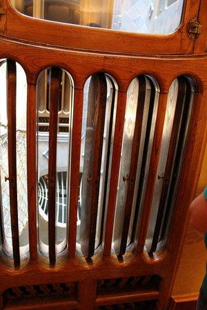 Casa Batlló: Wooden air vents