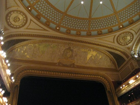 Royal Opera House: ROH ceiling