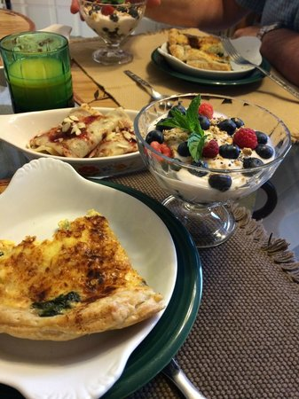 Williams Gate Bed and Breakfast Private Suites : BreakFeast at William Gate B&B