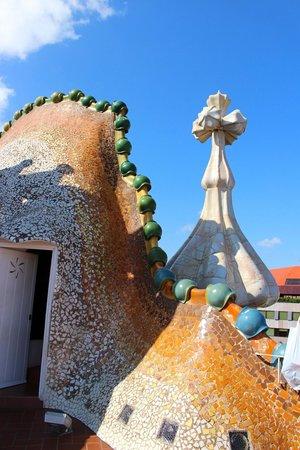 Casa Batlló: Roof top