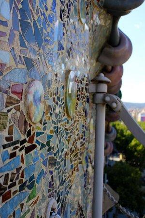 Casa Batlló: Close up work of art