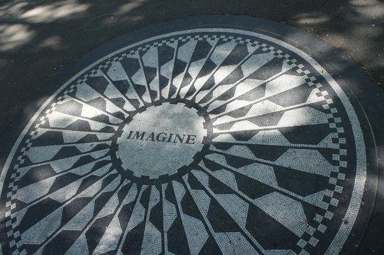 Central Park: IMAGINE