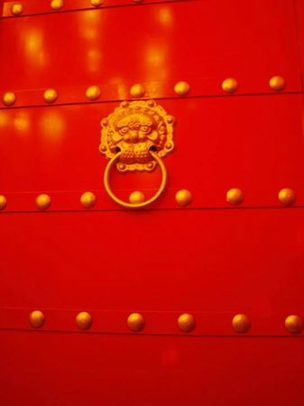 Le Palais Rouge : Door to room