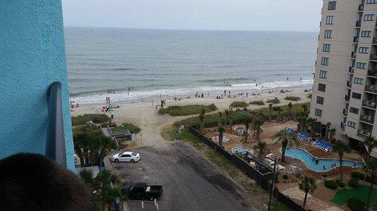 Landmark Resort: View from Angle Suite Balcony
