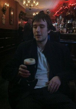 Maggie May's Bar Wexford : A Guinness after nearly getting stuck in Rome for Christmas