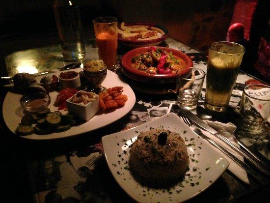 Triskala Café : Perfect sharing food