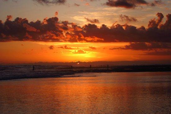 Kelapa Retreat Bali: Sonnenuntergang
