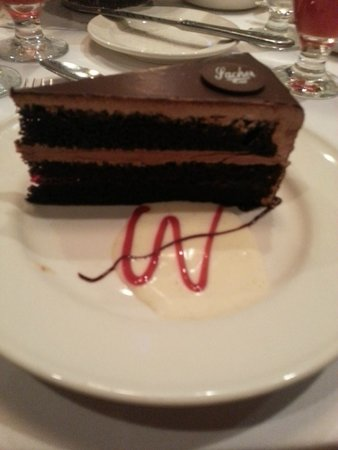 Crowne Plaza Hotel Dallas Downtown: dessert after the steak