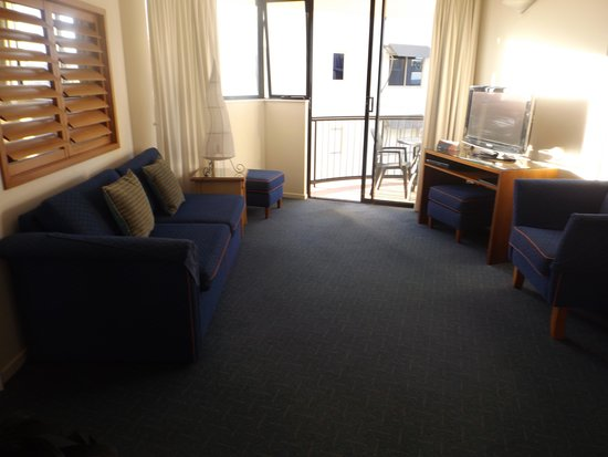 Ocean Boulevard Apartments: Lounge room