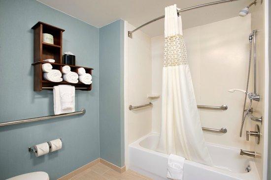 Hampton Inn & Suites Outer Banks / Corolla: Accessible Bathroom