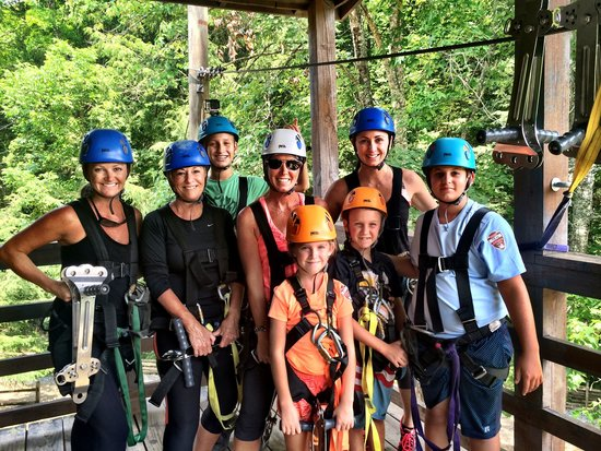 Foxfire Mountain Adventures: Family zippin