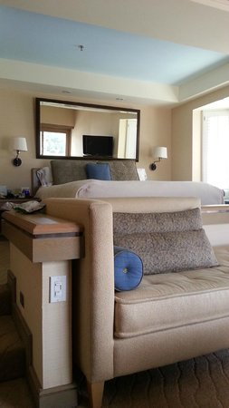 The Coeur d'Alene Resort: Our room 1491
