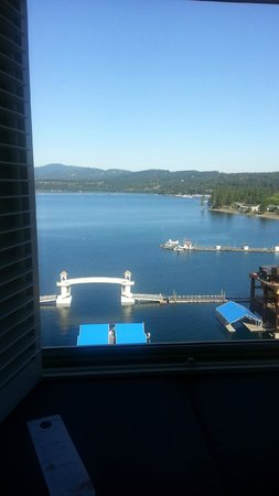 The Coeur d'Alene Resort : View from room 1491
