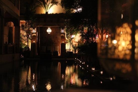 La Maison Arabe : nighttime romance