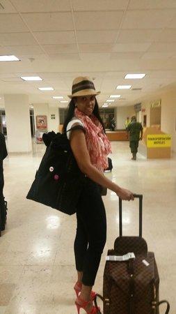 Torres Mazatlan Resort: Airport Arrival!