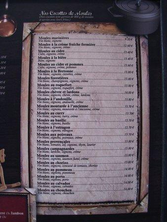 La Lycorne : Moules .. moules .. moules