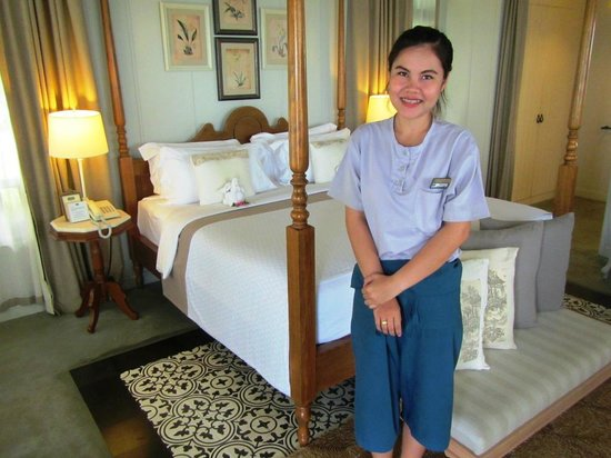 Devasom Hua Hin Resort: Room warm greeting