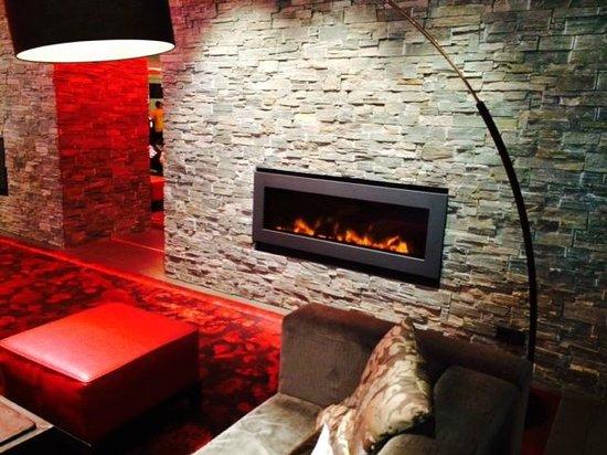 Club Med Valmorel : L'espace commun (bar/salle de spectacle)